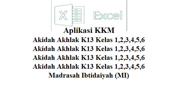 Aplikasi KKM Akidah Akhlak K13 Kelas 1,2,3,4,5,6 - FILE ...