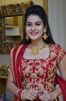 Jenny Honey in Stunning Dark Red Anarkali Dress at Splurge   Divalicious curtain raiser ~ Exclusive Celebrities Galleries 007.JPG