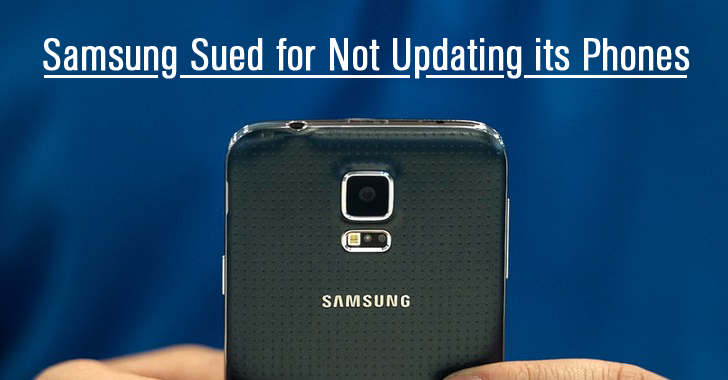 Samsung Get Sued for Failing to Update its Smartphones