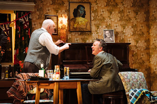 A Scene from The Entertainer - Pip Donaghy (Billy Rice), Shane Richie (Archie Rice)