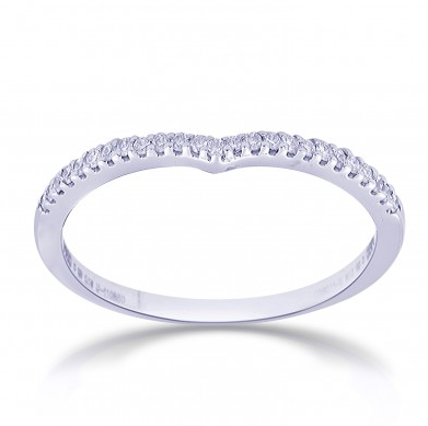 Platinum Love Bands below Rs. 20000 Design Code : SJ PTO 227