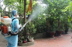 Phun muỗi tại huyện Gia Lâm