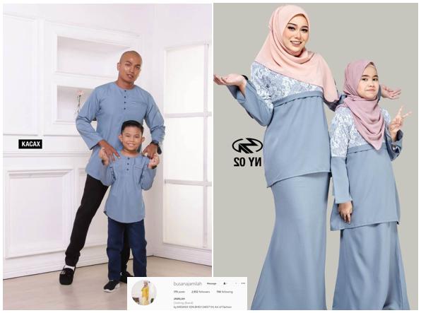Baju Raya Sedondon satu family 2021 - byfarahh