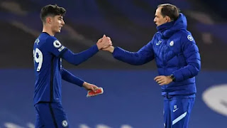 Chelsea boss Tuchel happy with Havertz performance in Everton win