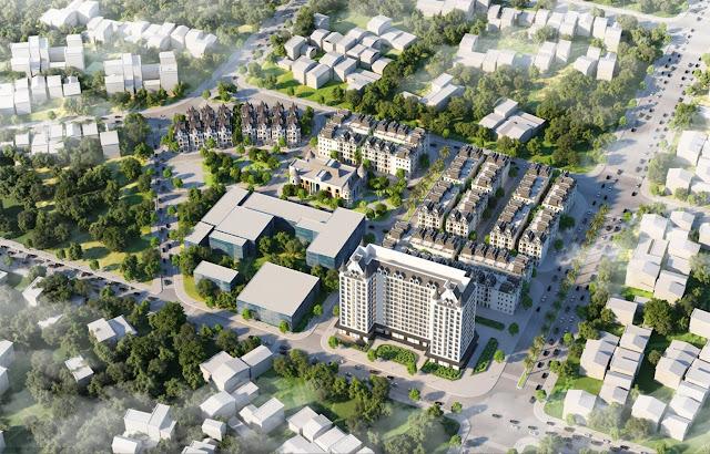 Bán dự án Helianthus Center Red River khu đô thị Cổ Dương Tiên Dương Đông Anh Vimedimex Vimefulland khu đấu giá
