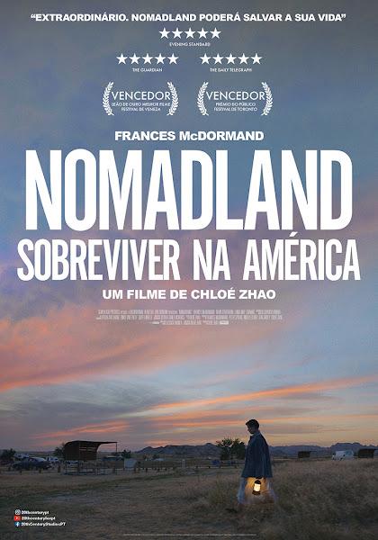 NOMADLAND - SOBREVIVER NA AMÉRICA - NOVO POSTER - NOS CINEMAS EM MARÇO
