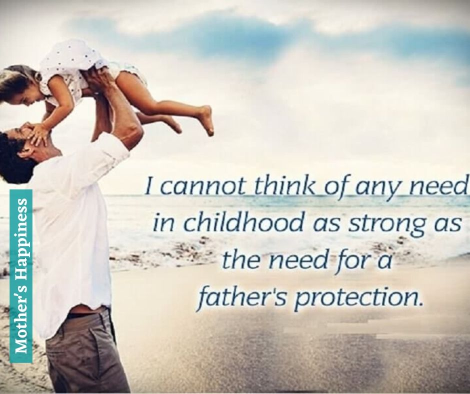Father and Daughter Quote HD Image