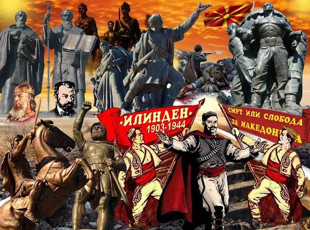 IMRO: Erinnerungen an die glorreiche alte Vergangenheit der Mazedonier