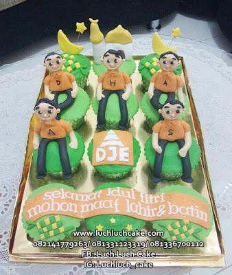 Cupcake Idul Fitri PT DJE