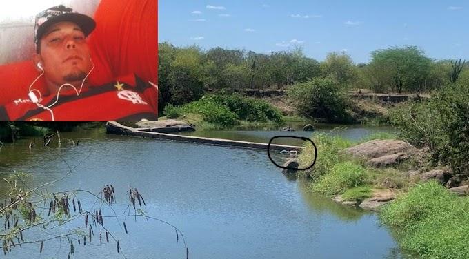 Jovem sequestrado dentro de casa em Valente é encontrado morto com mãos amarradas em barragem de Gavião