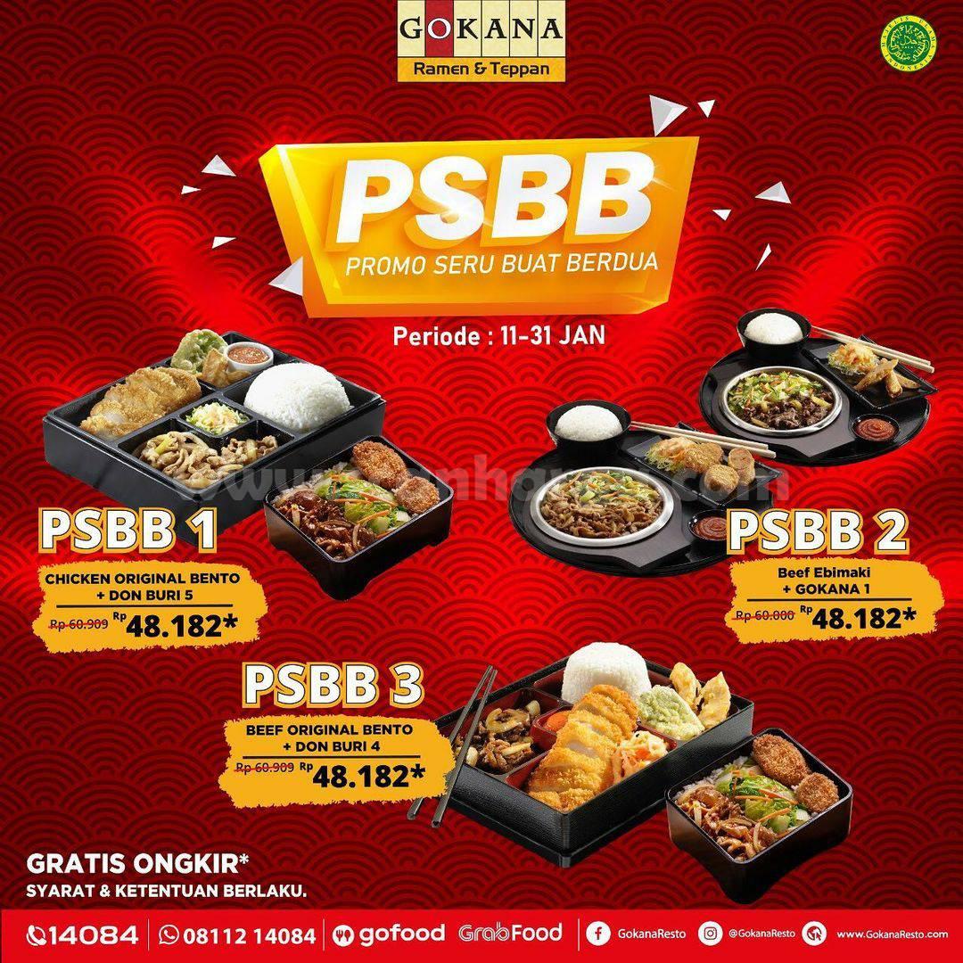 Promo Gokana Paket PSBB – Harga Serba Rp 48.182