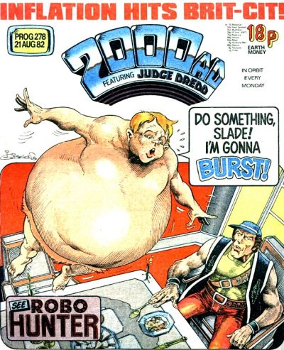 2000 AD Prog 278, Robo-Hunter