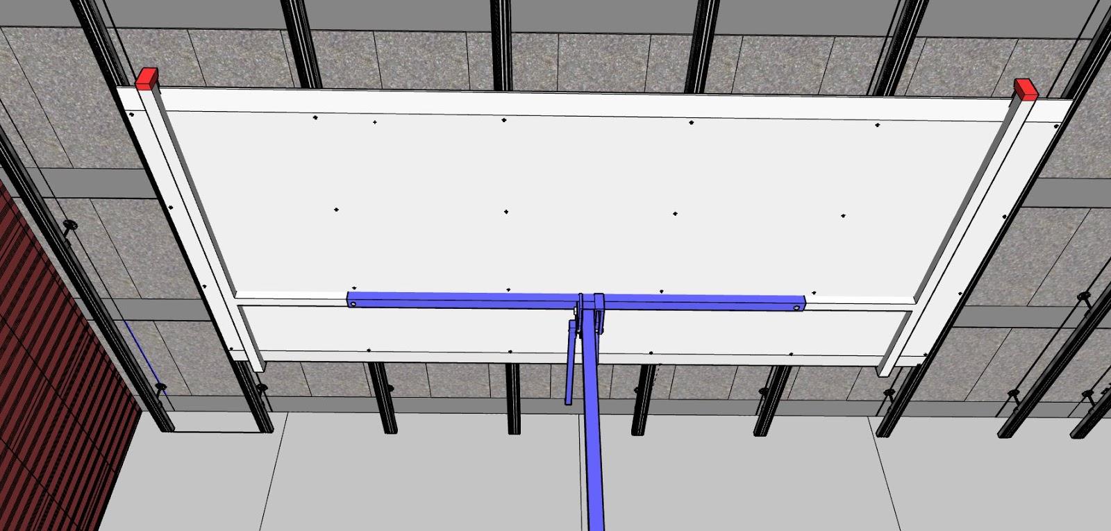 comment faire un plafond suspendu en placo platre. Black Bedroom Furniture Sets. Home Design Ideas