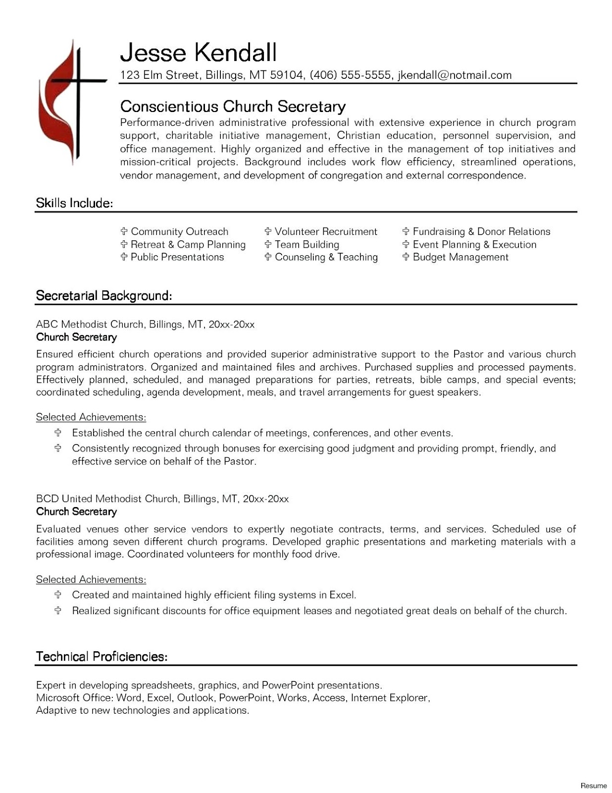 Food Service Resume Objective Examples 2019 Supervisor ...