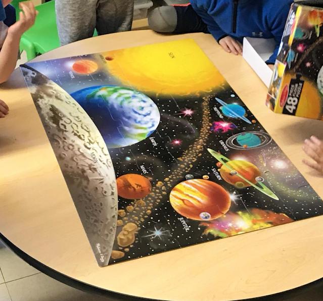 classroom floor puzzles