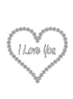 I LOVE YOU לצביעה