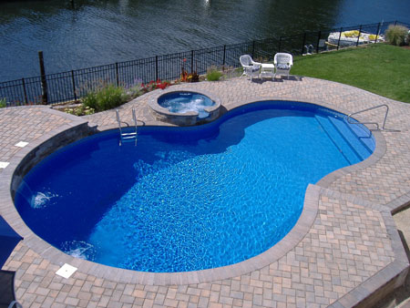 Images of the swimming pool styles and types design for Pool design types