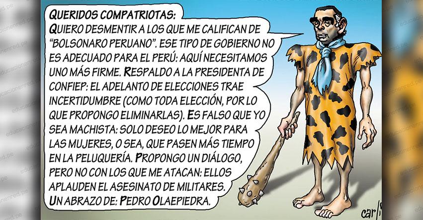 Carlincaturas Jueves 1 Agosto 2019 - La República