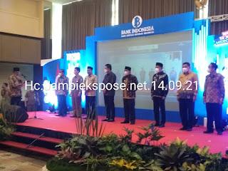 Wakil Gubernur Jambi Secara Resmi Membuka TP2DD