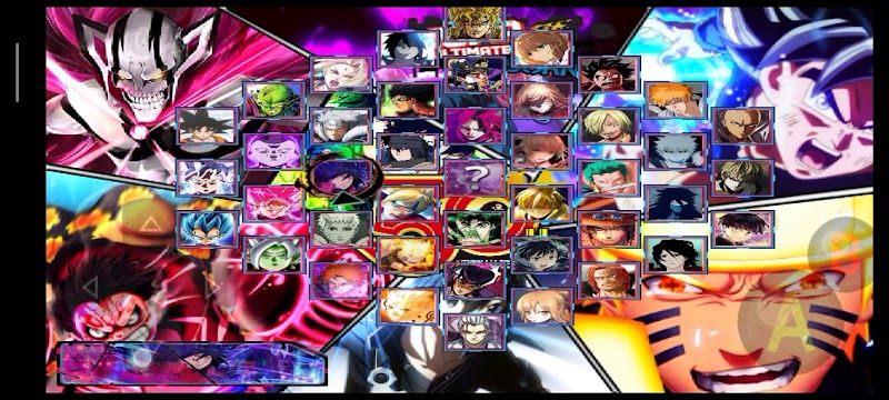 Jump Ultimate Stars Anime Mugen apk For Android 150+ Characters Download