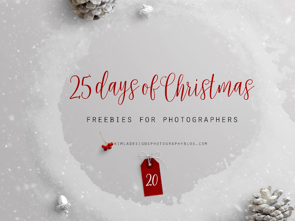 25 Days of Christmas Freebies for Photographers Day 20th