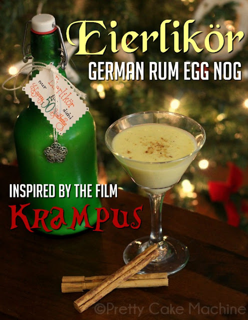 Eierlikör or German Rum Egg Nog by Pretty Cake Machine