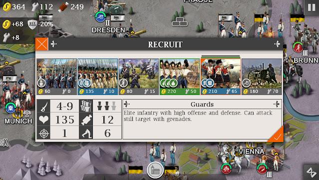 Screenshot European War 4 Napoleon - Apcoid