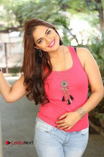 Tollywood Actress Ashwini Latest Stills in Ripped Jeans  0150.JPG