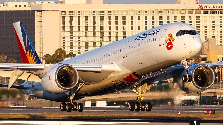 PAL A350 aircraft