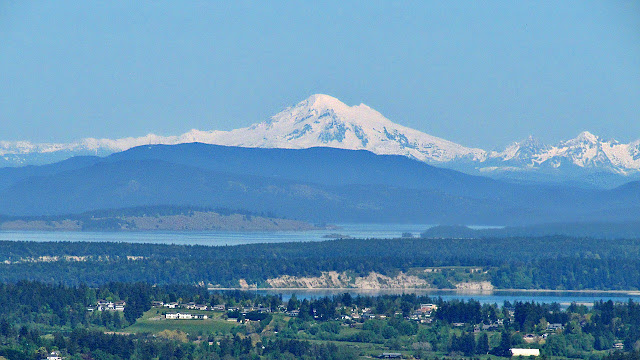 Washington State's Mt Baker...
