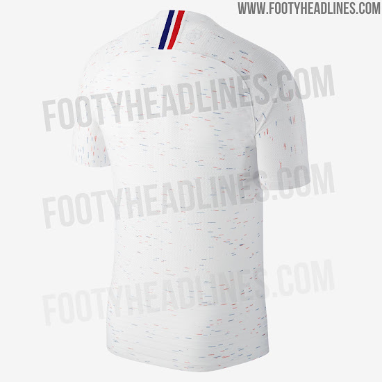 size 40 ef76a 3c432 France 2018 World Cup Away Kit Revealed - Footy Headlines