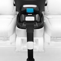 Clek Liing car seat installation, this car seat base is adaptable to most seats