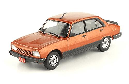 Peugeot 504 GR TN 1985 1:43, autos inolvidables argentinos 80 90