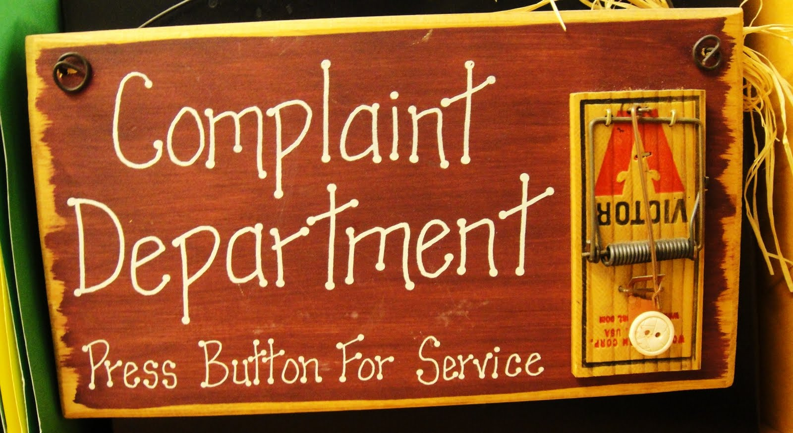 Complaint against forex broker