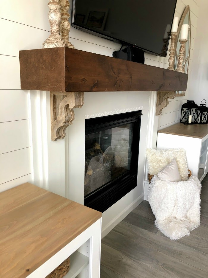 DIY Farmhouse Corbels