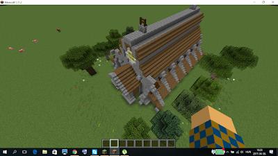 minecraft épület