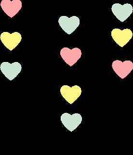 Clipart de Lluvia de Bendiciones Gratis para Scrapbooking.