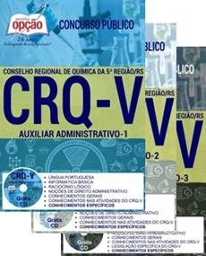 Apostila CRQ-RS 2017 Auxiliar Administrativo