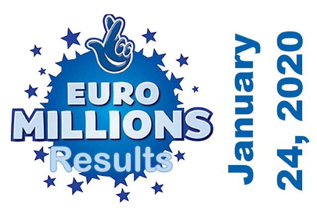 EuroMillions Results for Friday, January 24, 2020