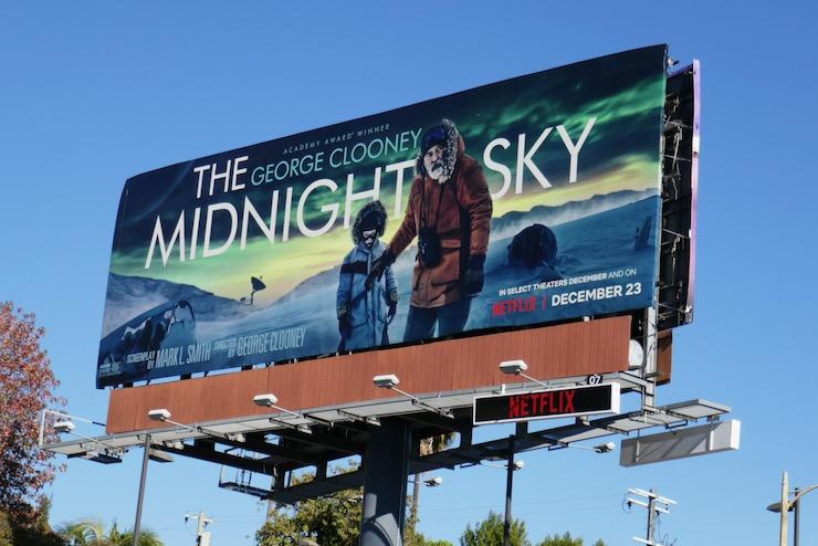 Midnight Sky film billboard