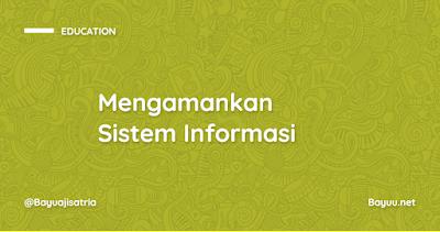 Mengamankan Sistem Informasi