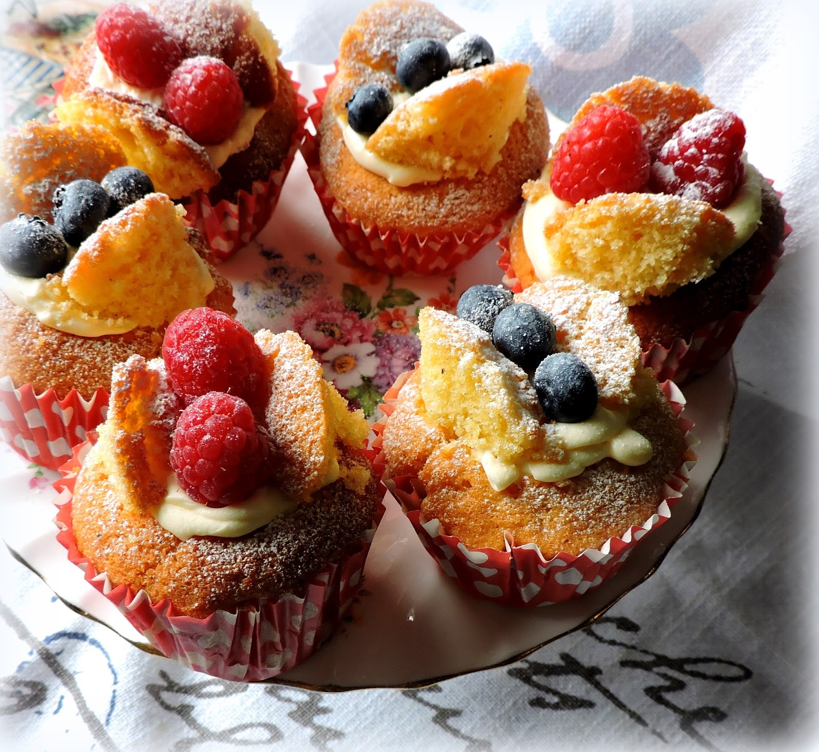 The English Kitchen Patriotic Butterfly Cakes