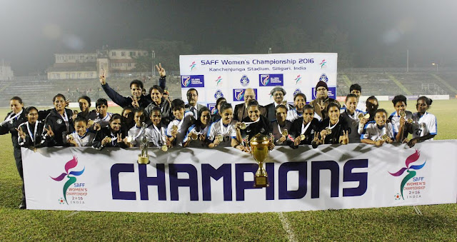 India win SAFF Women's Championship 2016