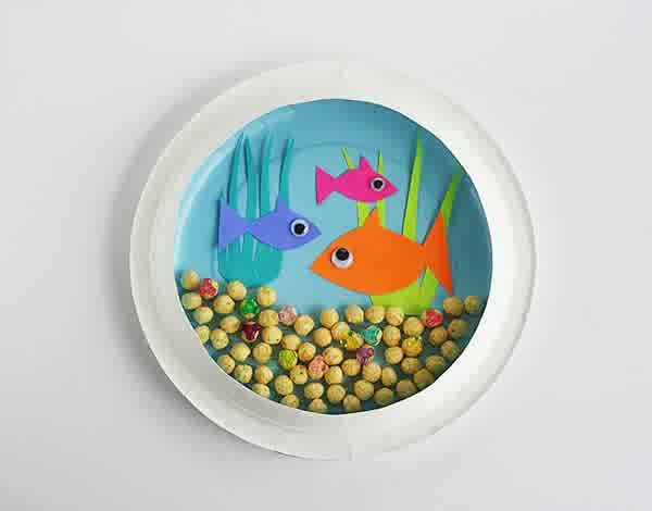 paper plates art ideas