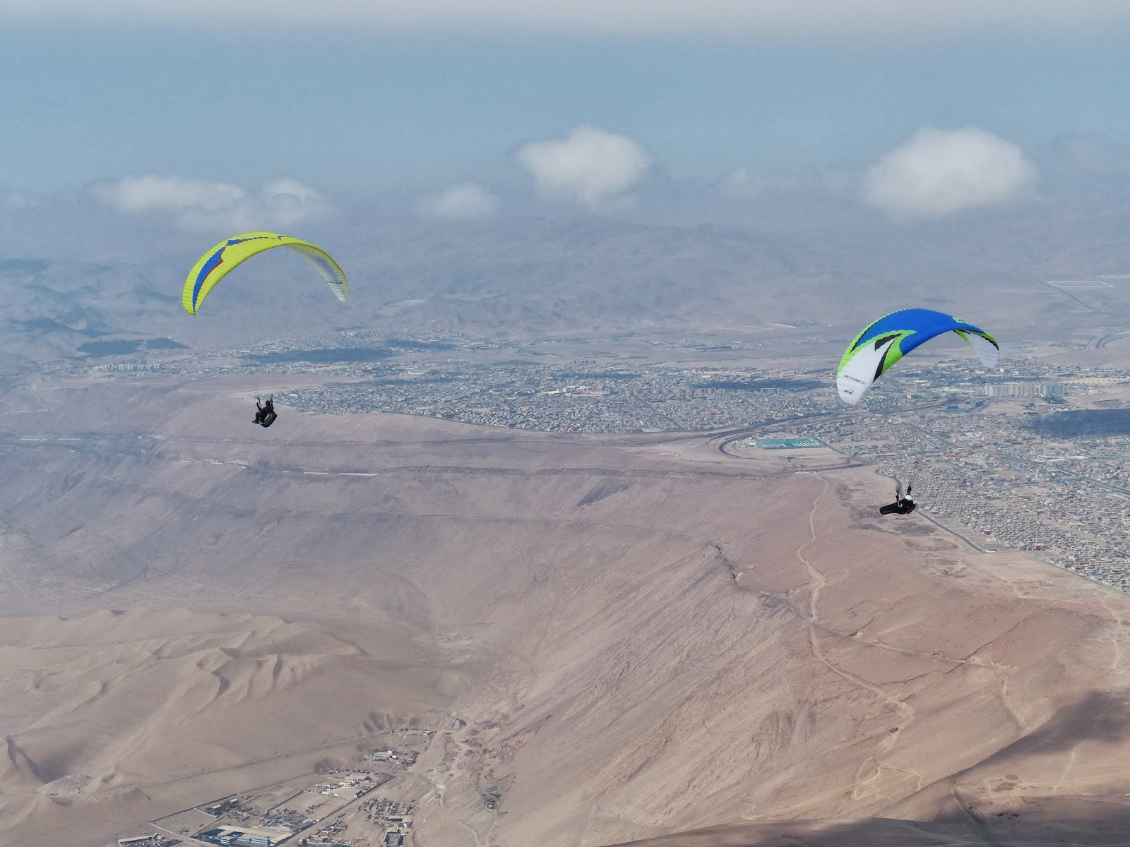 Dawn - Sometimes An Ultrarunner: Iquique Chile Paragliding Tour