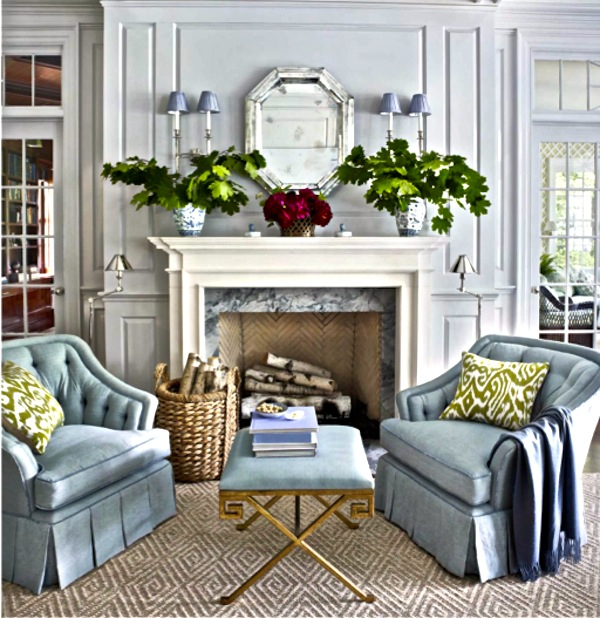 Beautiful Living Room Colors: Color Changes Everything: Benjamin Moore Coventry Gray