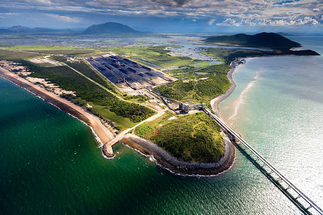 Image Attribute: Aerial view of Abbot Point Port, Queensland, Australia / Creative Commons