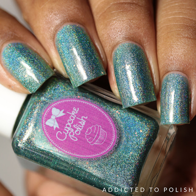 Cupcake Polish Mermaid You Look