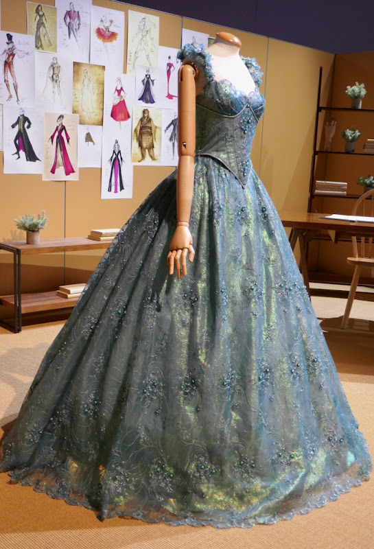 Jessy Schram Once Upon a Time Cinderella ball gown