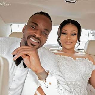 9ICE wedding picture with wife